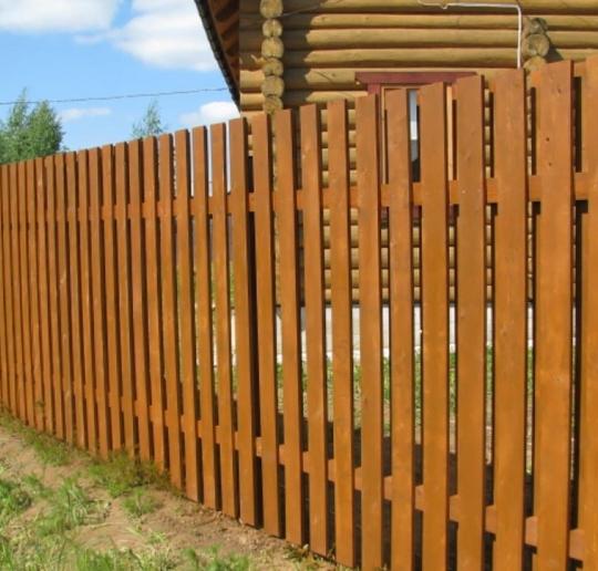 Деревянные заборы и их элементы